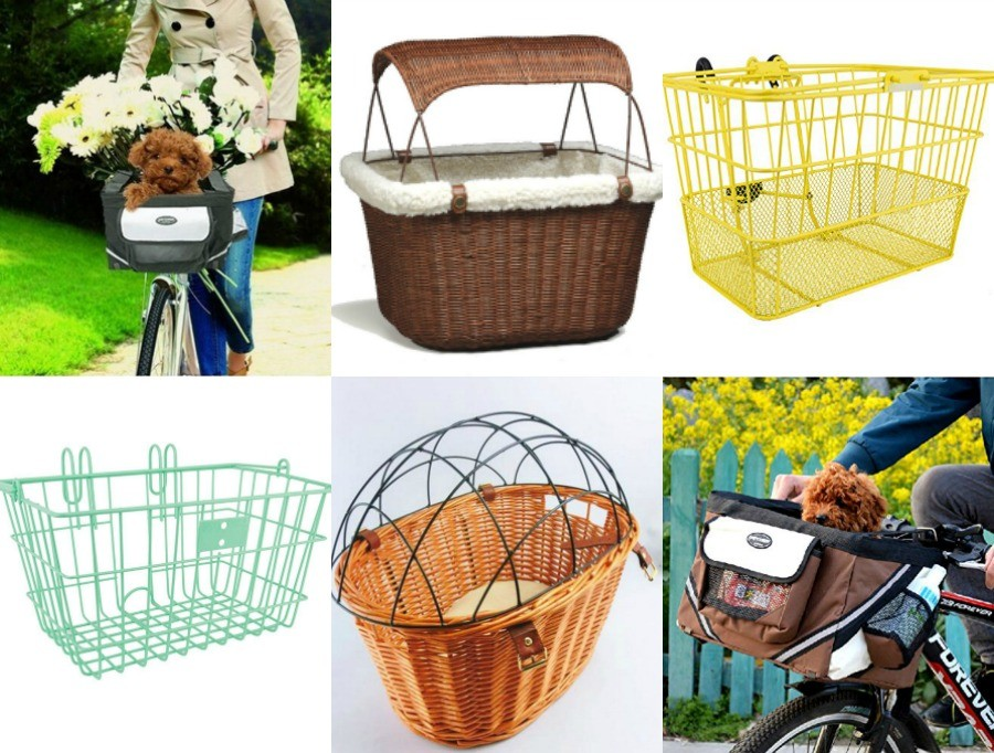 dog bike basket round up