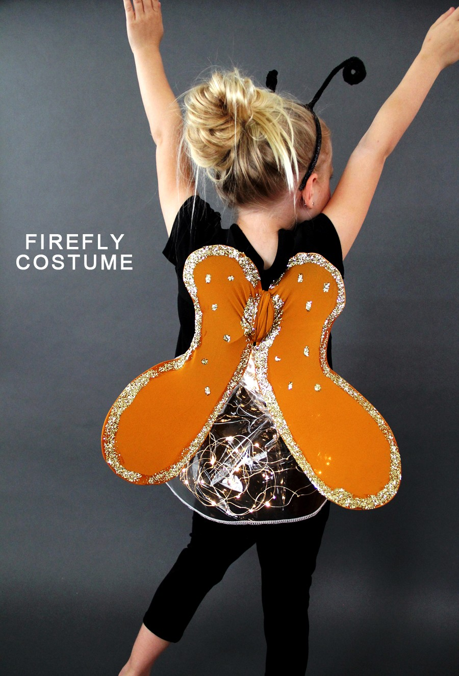 how to make a firefly costume, with a butt that lights up!