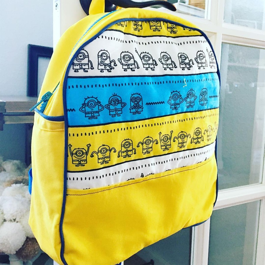 Make a minion backpack!