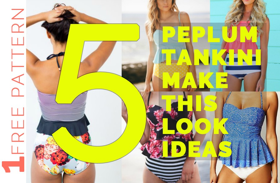 Have you tried sewing your own bathing suit yet?
