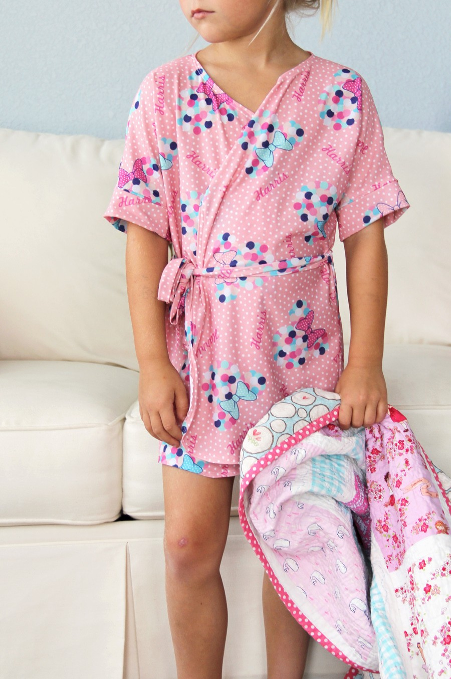 Kids Bathrobe The Sewing Rabbit