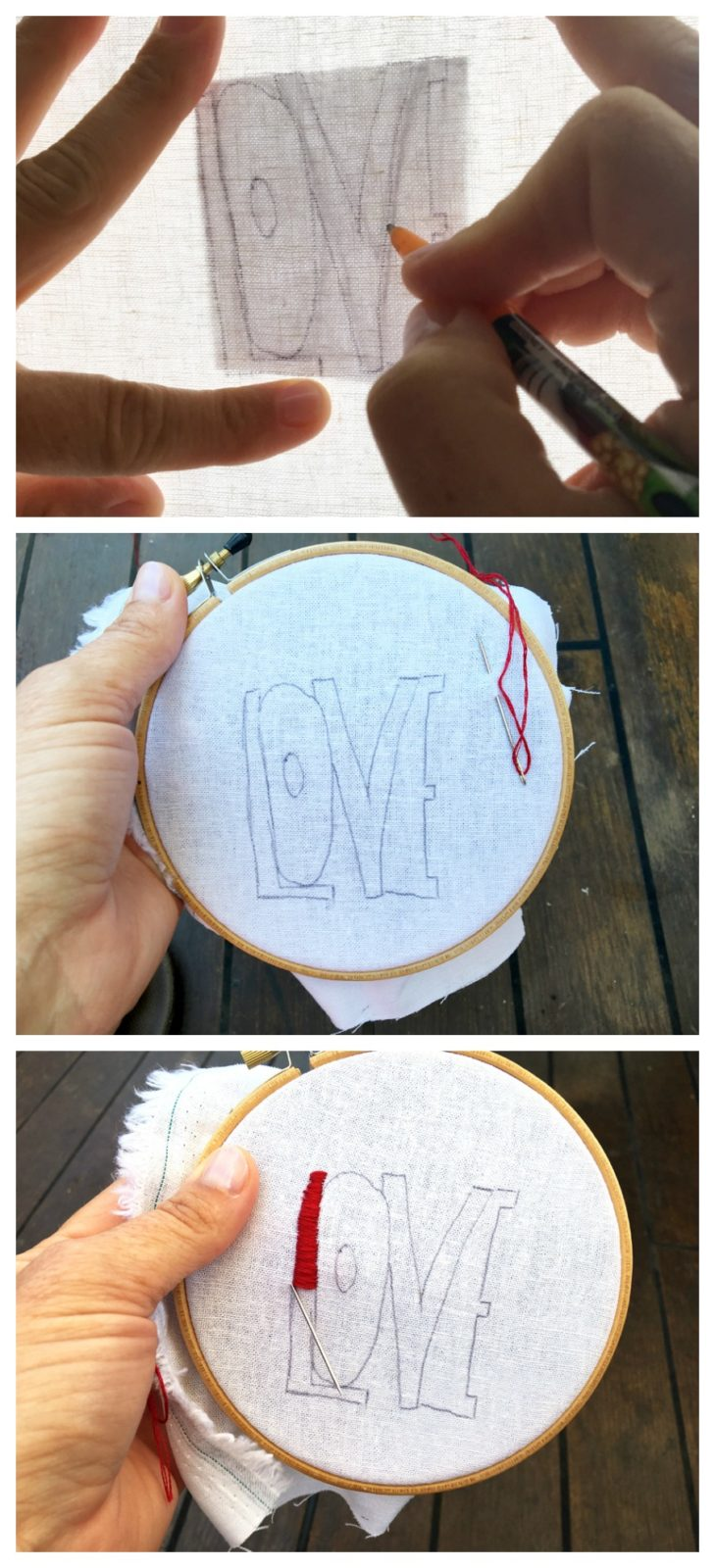 how to hand embroider your own patch