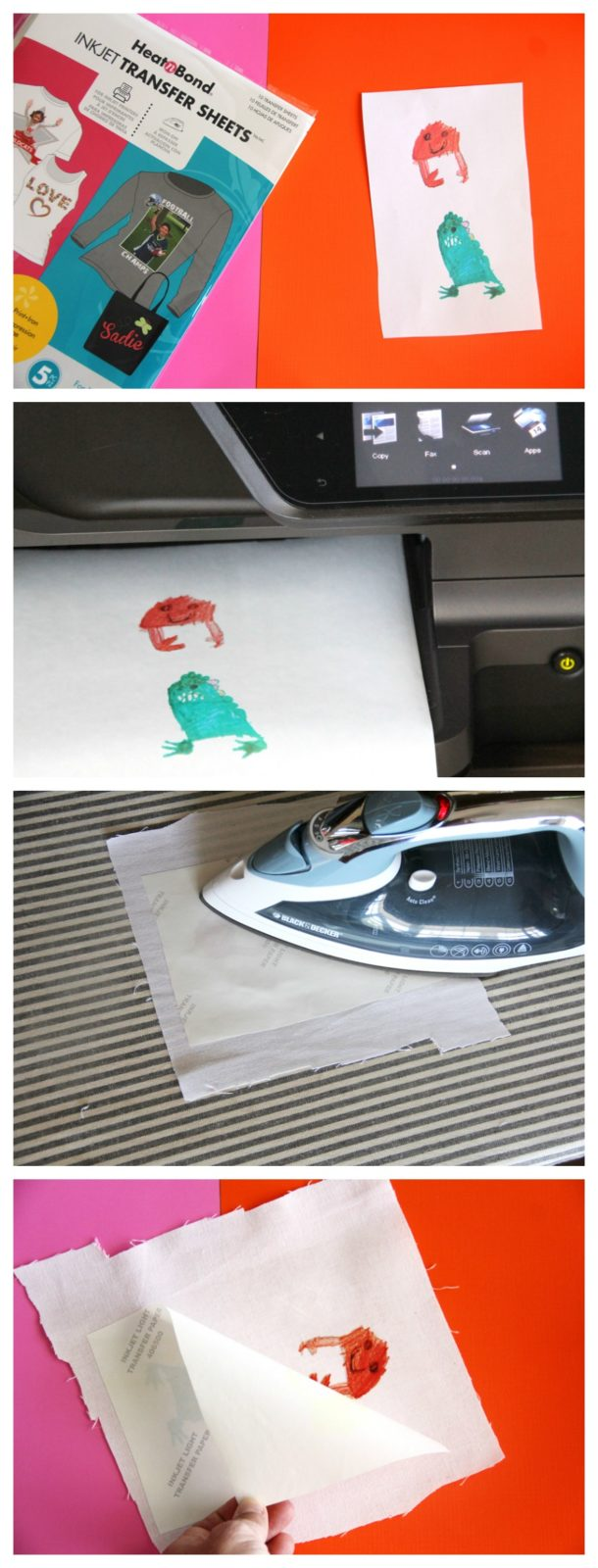 Turn your child's artwork into a patch