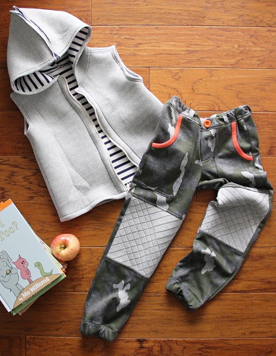 MAKE THIS LOOK: Sewing for Kindergarten