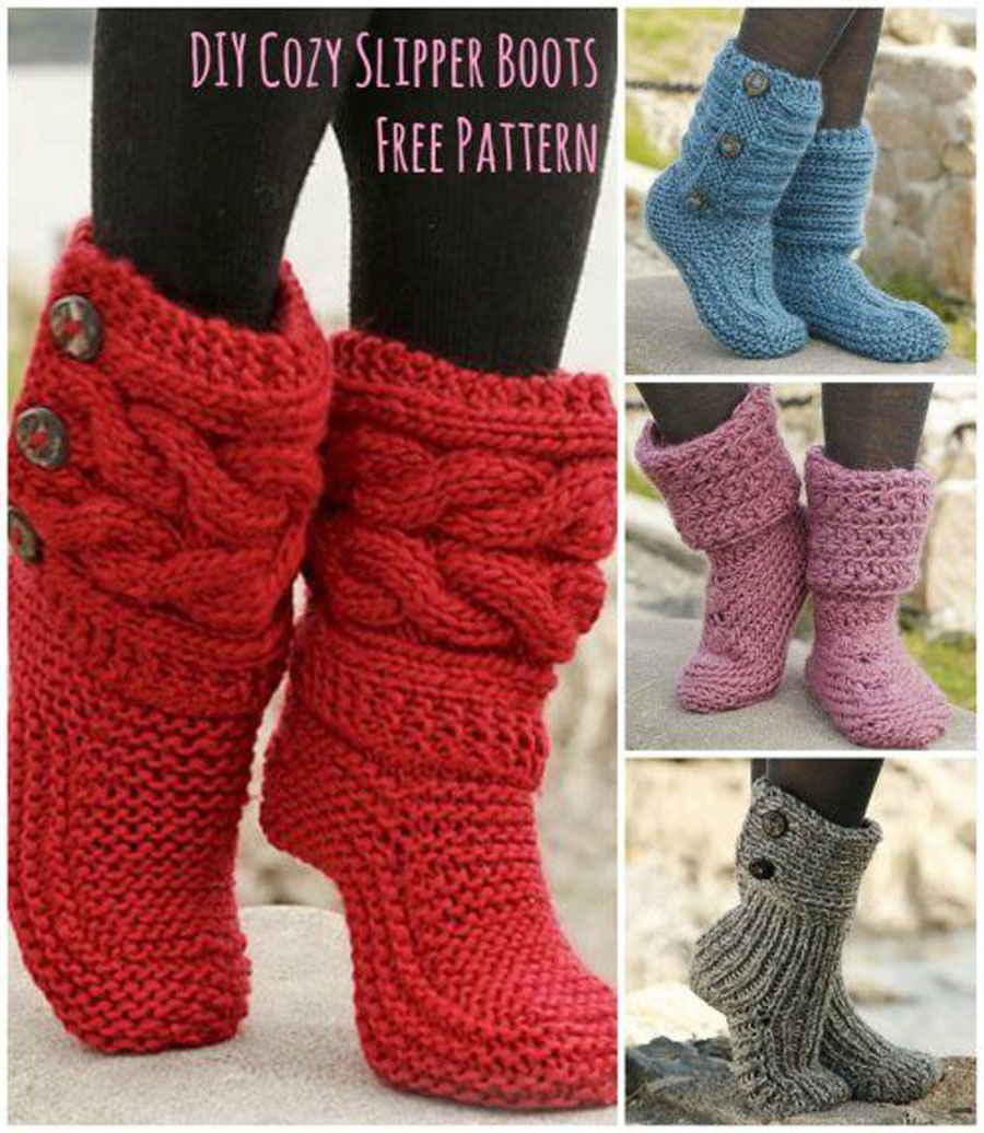 Socks, Slippers, and Boot Covers...oh my! - The Sewing Rabbit