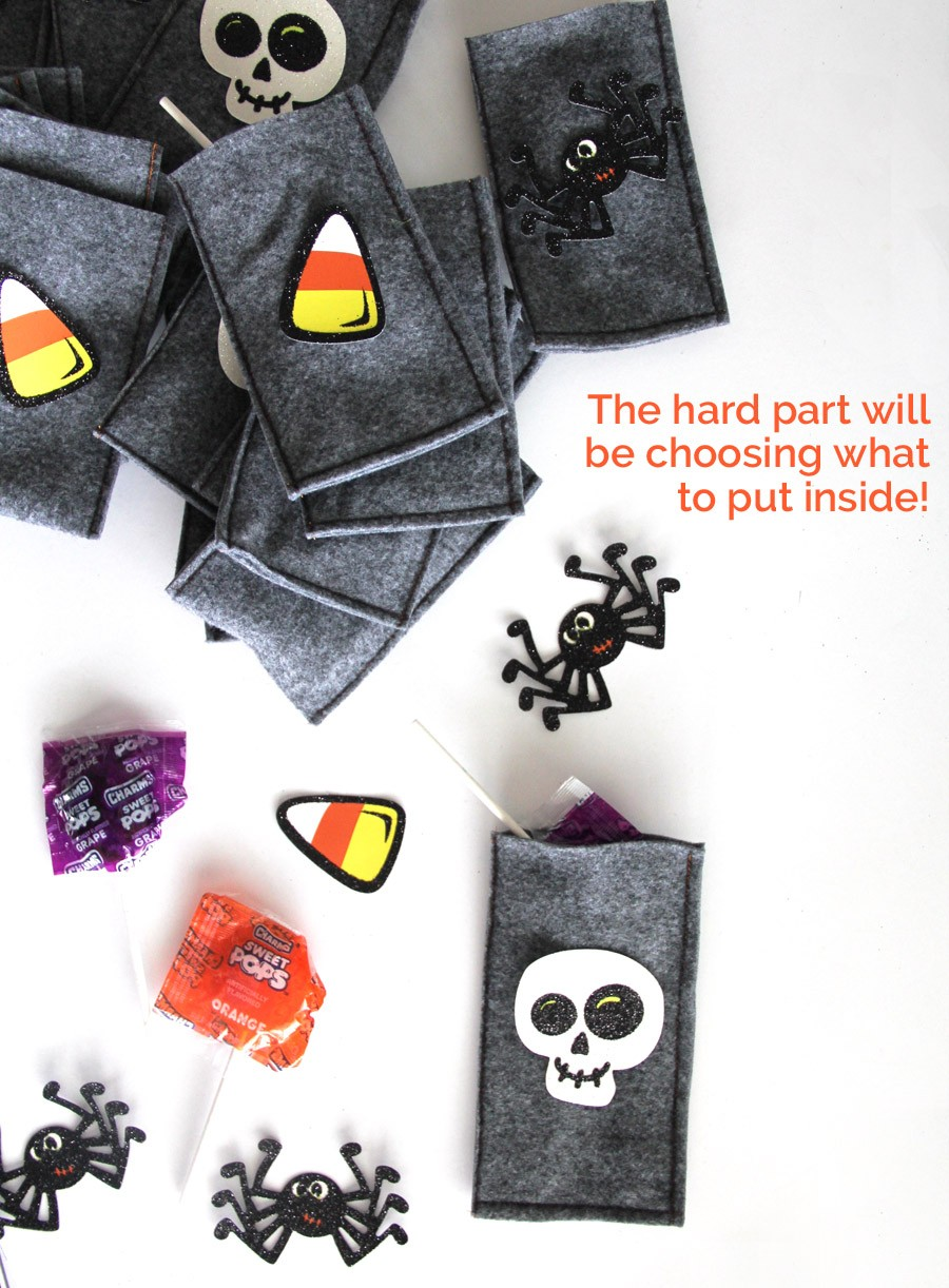 How to sew 30 treat bags, un under 30 minutes! Perfect for Halloween, birthday gift bags, and more. The hard part will be choosing what to put inside :) :) :).