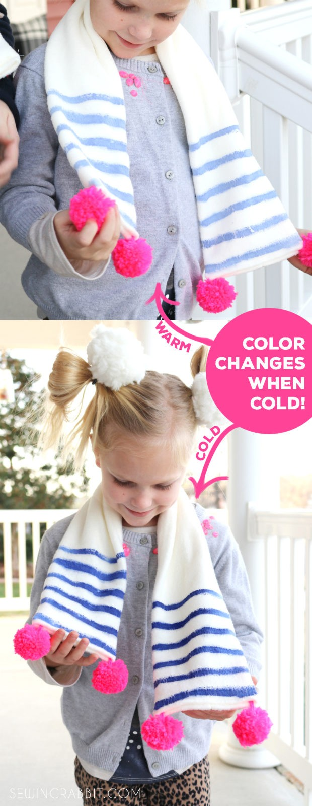 watch the paint color change when the temperature drops below 58° !!!
